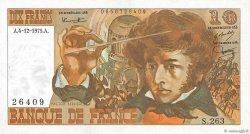 10 Francs BERLIOZ FRANCE  1975 F.63.15 VF