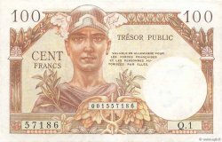 100 Francs TRÉSOR PUBLIC FRANCE  1955 VF.34.01 VF