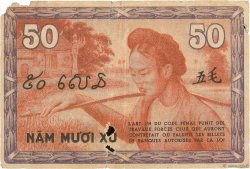 50 Cents INDOCHINE FRANÇAISE  1939 P.087a TB