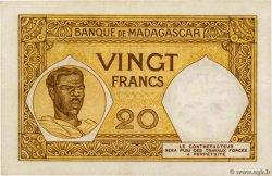 10 Francs MADAGASCAR  1957 P.37 pr.SUP