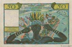 50 Francs AFRIQUE OCCIDENTALE FRANÇAISE (1895-1958)  1956 P.45 pr.SUP