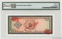 500 Francs BURUNDI  1964 P.13s NEUF