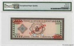 500 Francs BURUNDI  1966 P.13s NEUF