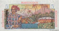 5 Francs Bougainville MARTINIQUE  1947 P.27s SPL
