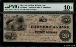 20 Dollars UNITED STATES OF AMERICA Wilmington 1861  XF-