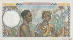 5000 Francs FRENCH WEST AFRICA  1950 P.43 VZ+