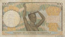 100 Francs  FRENCH WEST AFRICA  1941 P.23 S