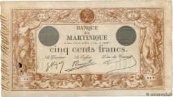 500 Francs  MARTINIQUE  1910 P.09 F