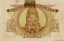 100 Francs  NEW CALEDONIA  1943 P.46a VF-
