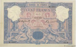 100 Francs BLEU ET ROSE FRANCE  1901 F.21.15 TTB+