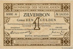 1 Gulden  NETHERLANDS  1916 P.008