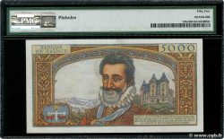 5000 Francs HENRI IV FRANCE  1957 F.49.03 SUP+