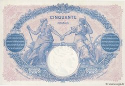 50 Francs BLEU ET ROSE FRANCE  1924 F.14.37 SUP+