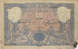 100 Francs BLEU ET ROSE  FRANCE  1904 F.21.18 pr.TB