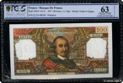 100 Francs CORNEILLE FRANCE  1967 F.65.16 SPL