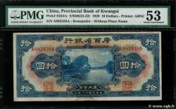 10 Dollars  CHINE  1929 PS.2341r SUP+