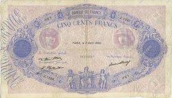 500 Francs BLEU ET ROSE FRANCE  1930 F.30.33 pr.TB