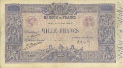 1000 Francs BLEU ET ROSE  FRANCE  1926 F.36.42 TB+