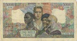 5000 Francs EMPIRE FRANÇAIS FRANCE  1945 F.47.38 TB