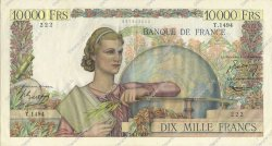 10000 Francs GÉNIE FRANÇAIS FRANCE  1951 F.50.51 SUP