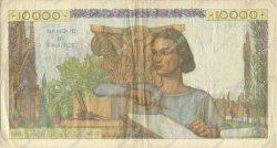 10000 Francs GÉNIE FRANÇAIS FRANCE  1954 F.50.70 pr.TTB