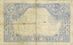 5 Francs BLEU FRANCE  1916 F.02.36 pr.TTB