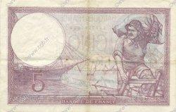 5 Francs VIOLET modifié FRANCE  1939 F.04.03 pr.SUP