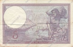 5 Francs VIOLET modifié FRANCE  1939 F.04.14 pr.SUP