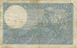 10 Francs MINERVE modifié FRANCE  1940 F.07.15 B+