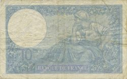 10 Francs MINERVE modifié FRANCE  1940 F.07.23 TB