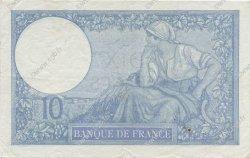10 Francs MINERVE modifié FRANCE  1941 F.07.28 TTB+