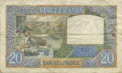 20 Francs SCIENCE ET TRAVAIL FRANCE  1941 F.12.16 TB