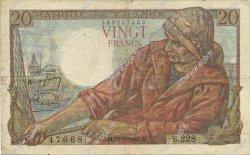 20 Francs PÊCHEUR FRANCE  1949 F.13.15