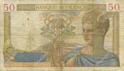 50 Francs CÉRÈS FRANCE  1935 F.17.05 B+
