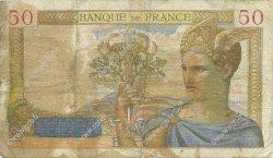 50 Francs CÉRÈS FRANCE  1937 F.17.33 B