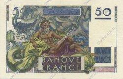 50 Francs LE VERRIER FRANCE  1947 F.20.08 SUP à SPL