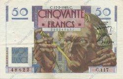 50 Francs LE VERRIER FRANCE  1949 F.20.11 pr.SUP