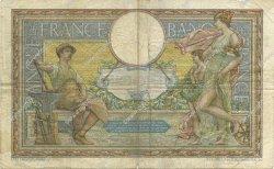 100 Francs LUC OLIVIER MERSON avec LOM FRANCE  1908 F.22.01 B à TB