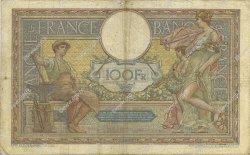 100 Francs LUC OLIVIER MERSON sans LOM FRANCE  1915 F.23.07 B