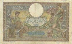 100 Francs LUC OLIVIER MERSON sans LOM FRANCE  1920 F.23.13 TB