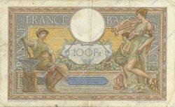 100 Francs LUC OLIVIER MERSON grands cartouches FRANCE  1932 F.24.11 pr.TTB