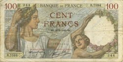 100 Francs SULLY  FRANCE  1940 F.26.23 B+