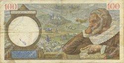 100 Francs SULLY FRANCE  1940 F.26.23 B+
