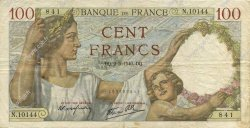 100 Francs SULLY FRANCE  1940 F.26.28