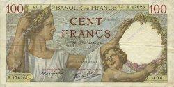 100 Francs SULLY FRANCE  1940 F.26.43 TTB