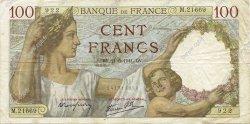 100 Francs SULLY FRANCE  1941 F.26.52 TTB