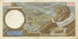 100 Francs SULLY FRANCE  1941 F.26.58 TTB