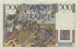 500 Francs CHATEAUBRIAND FRANCE  1945 F.34.02 SUP+
