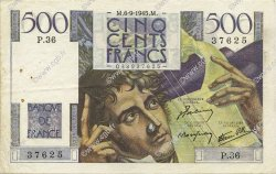 500 Francs CHATEAUBRIAND FRANCE  1945 F.34.02 SUP