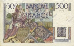500 Francs CHATEAUBRIAND FRANCE  1945 F.34.02 TTB+